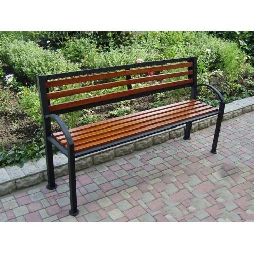 Скамейка садовая С005