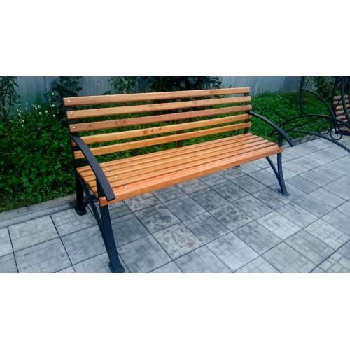 Скамейка садовая С006