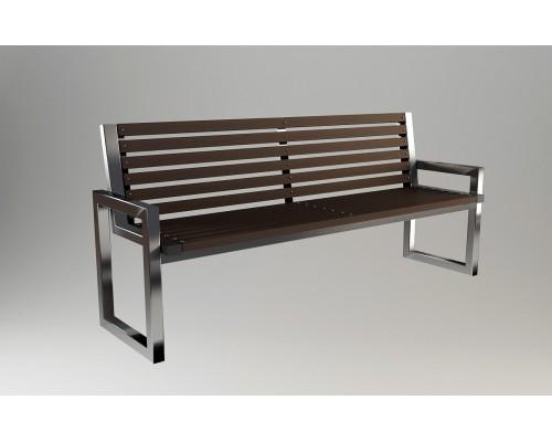 Скамейка садовая С012