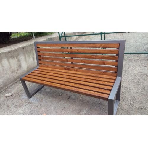 Скамейка садовая С008