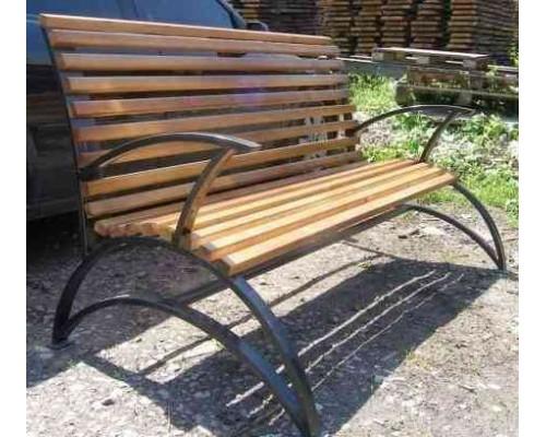 Скамейка садовая С009