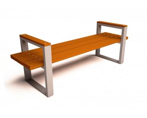 Скамейка садовая С010